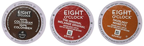 Eight O`Clock Discovery Box Single Serve K-Cup pods for Keurig brewers, 40 Count