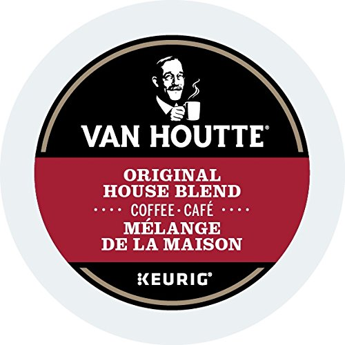 Van Houtte Original House Single Serve K-Cup pods for Keurig brewers, 30 Count
