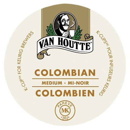 Van Houtte Coffees 40-33717 Colombian K-Cups, Medium, 24-Count
