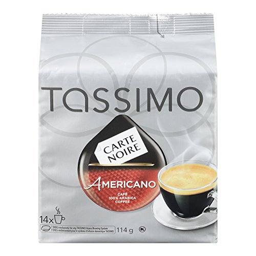 CARTE NOIRE TASS Americano Coffee, 114g, 14 Count
