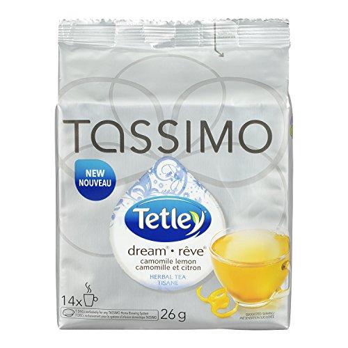 Tetley Tassimo Dream Chamomile Lemon Tea T-Discs, 14-Count