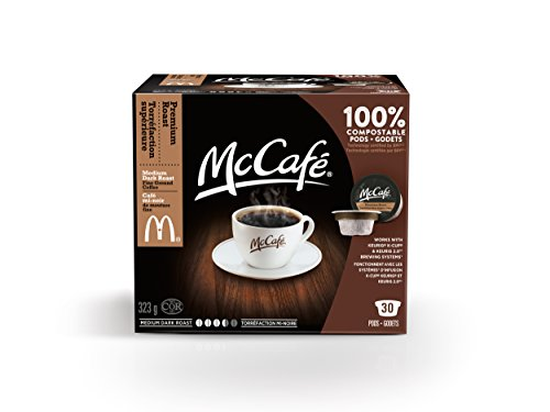 McCafe Premium Roast Coffee Pods, 323g, 30 Count