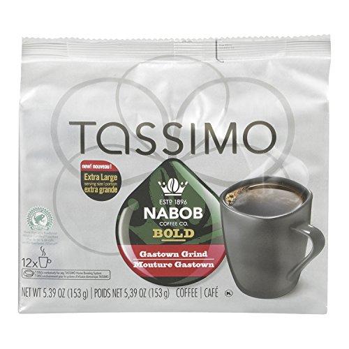 NABOB Bold Gastown Grind Coffee, 153g, 12 Count