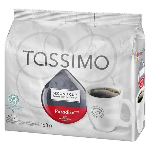 SECOND CUP PARADISO Coffee, 163g, 12 Count