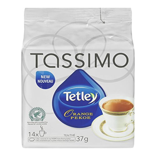 TETLEY Orange Pekoe Tea, 37g, 14 Count