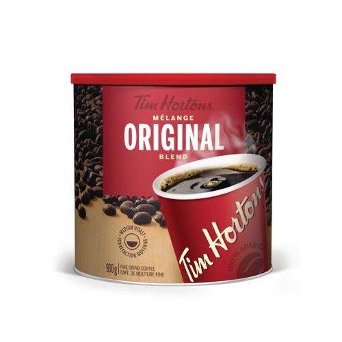 Tim Horton's Coffee Fine Grind Can 930 Gram