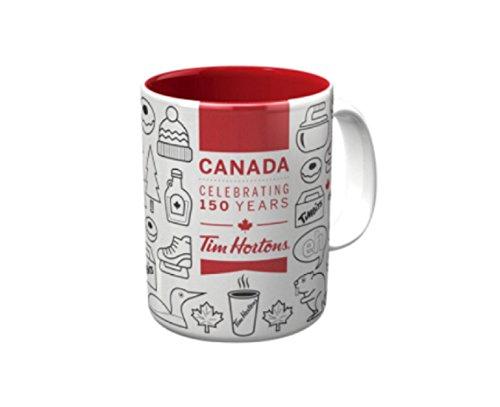 BRAND NEW! Tim Hortons CANADA 150 Years Ceramic Mug / Cup Ltd Edition, 2017
