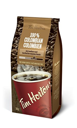 Tim Horton's 100% Colombian Coffee, 300 Grams