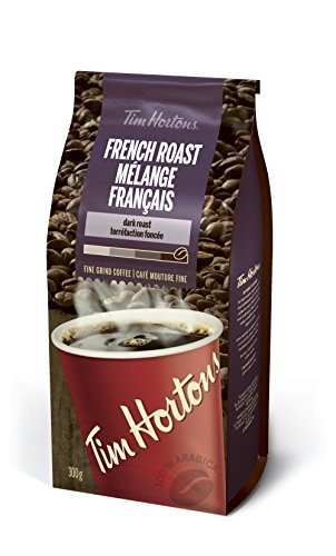 Tim Horton's French Roast Coffee, 300 Grams