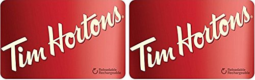 Tim Hortons $50 CAD Gift Card (2 x $25)