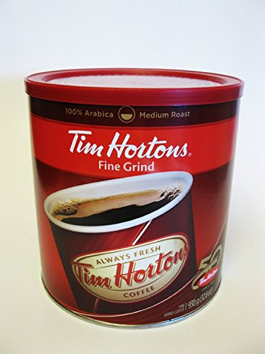 Tim Hortons Fine Grind Coffee 930g Can