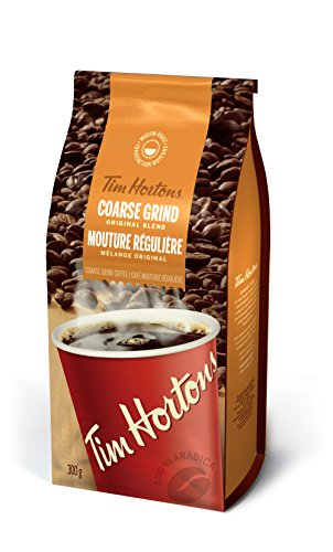 Tim Hortons Dark Roast Can Coffee 875GR
