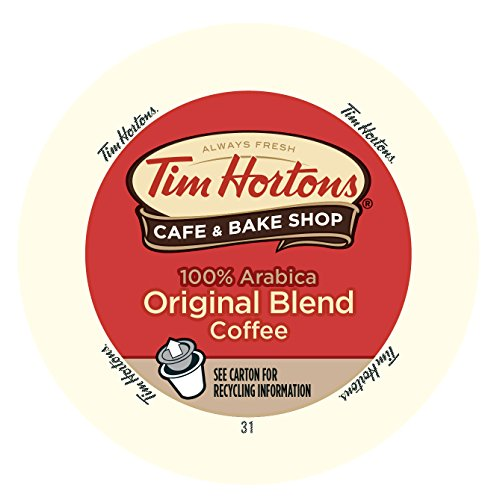 Tim Horton's Single Serve Coffee Cups, Original Blend, 12 Count (Pack of 6)