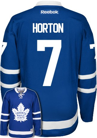 Tim Horton New Toronto Maple Leafs NHL Home Reebok Premier Hockey Jersey