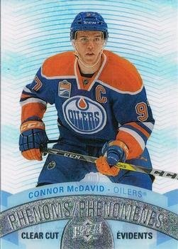 2017-18 UPPER DECK TIM HORTONS Connor Mcdavid Clear Cut Phenoms #CCP-1