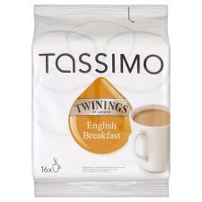 Tassimo Twinings English Tea 40g – 16 Capsules