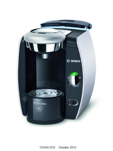 Bosch TAS4615UC8 Tassimo T46 Home Brewing System (Silver)