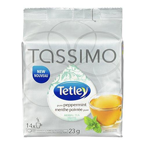 TASSIMO TETLEY Peppermint Tea 23G