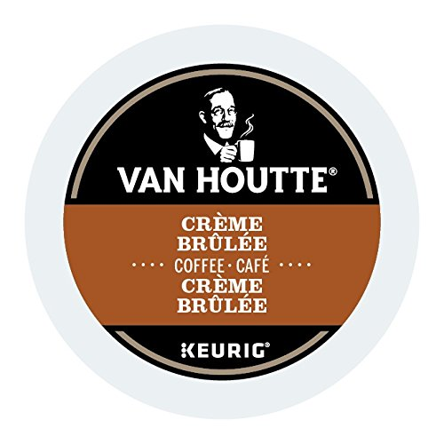 Van Houtte Creme Brulee Single Serve Keurig Certified K-Cup pods for Keurig brewers, 24 Count