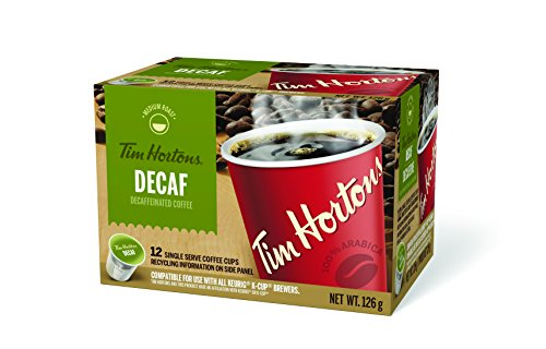 Tim Horton's K-Cup Decaf 12 Count