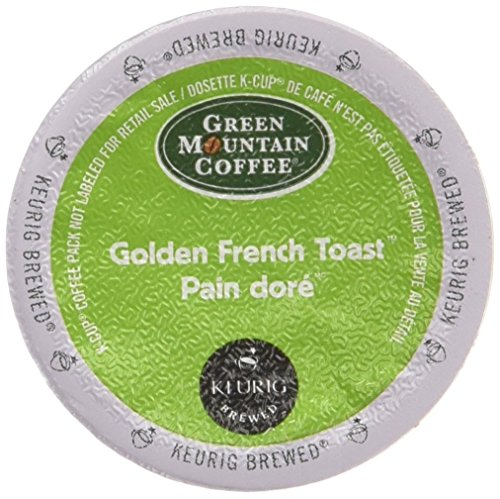 Green Mountain Coffee Roasters Golden French Toast Coffee K-Cups For Keurig Brewers, 24-Count