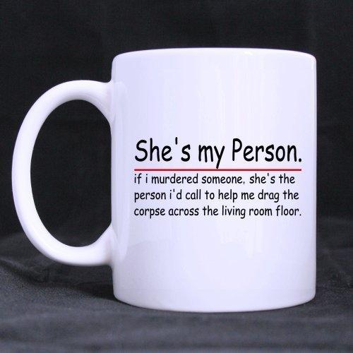 Funny Gift – Funny Grey's Anatomy Theme Coffee Mug,Tea Cup, Ceramic Material Mugs,White 11oz