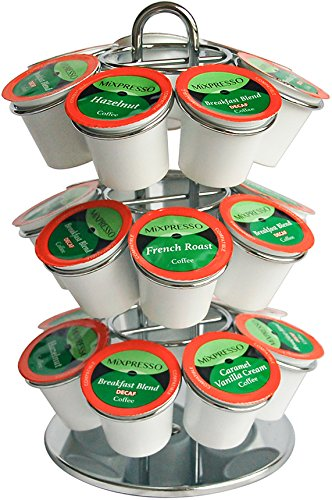 K Cup Capsule Spinning Carousel Holder – By Mixpresso Coffee