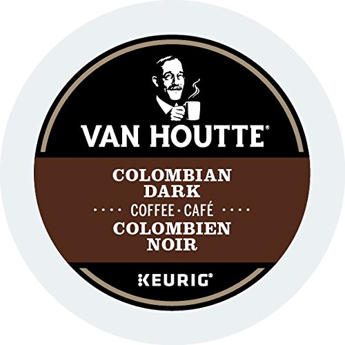 Van Houtte Colombian Single Serve Keurig Certified K-Cup pods for Keurig brewers, 24 Count