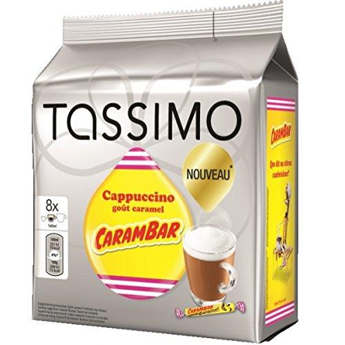 Tassimo Carambar Caramel Drink Coffee Capsules T-Discs / 16 Discs – 8 Servings