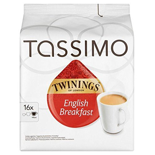 Tassimo Twinings English Breakfast Tea Pods 16 Servings