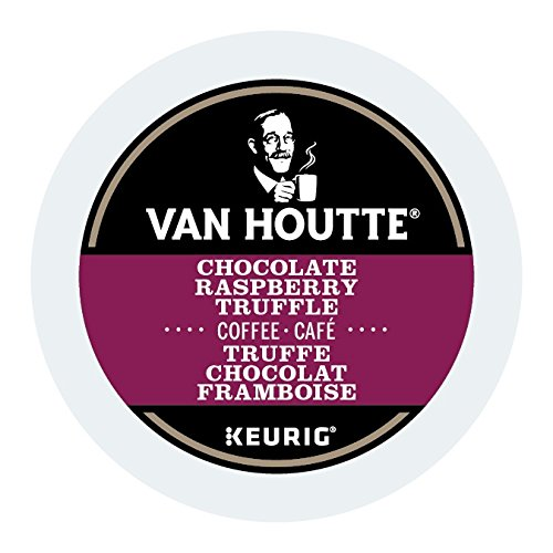 Van Houtte Chocolate Raspberry Truffle Single Serve Keurig Certified K-Cup pods for Keurig brewers, 12 Count