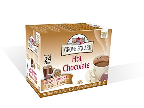 Grove Square Hot Chocolate Mix, 24 Single Serve Cups