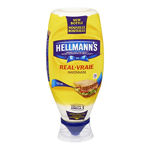 Hellmanns Real Mayonnaise 750mL