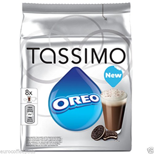 Tassimo Coffee T Discs – T-disc – Capsules – Pods – 44 Flavours To Choose From – Oreo