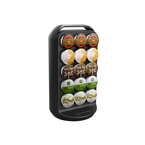 """Mind Reader CRS02-BLK """"Apollo"""" Spinning Coffee Pod Carousel, Black"""