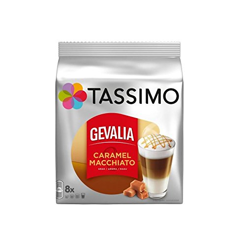 Tassimo Gevalia Latte Macchiato Caramel (8 servings) (Pack of 2)