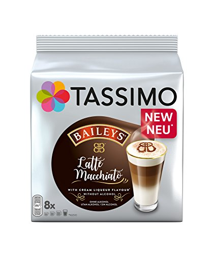 Tassimo Baileys Latte Macchiato (1 pack of 16 pods, 8 servings)