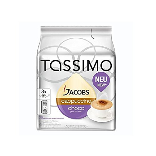 Tassimo Jacobs Cappuccino Choco (8 servings)