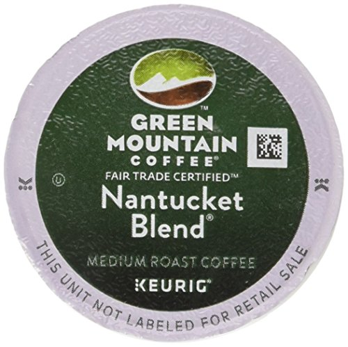 Green Mountain Coffee K-Cups, Nantucket Blend K-Cup Portion Pack for Keurig Brewers, 96-Count