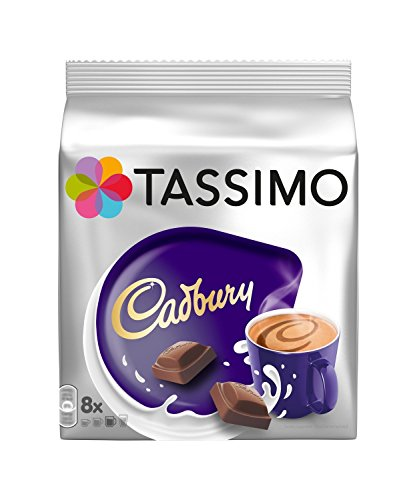 Tassimo Cadbury Hot Chocolate Pack of 2, 2×16 T-Discs