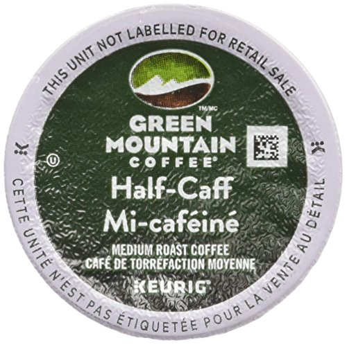 Green Mountain Coffee, Half-Caff K-Cups, 24-Count