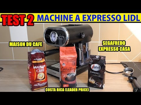 Lidl Machine A Expresso Silvercrest Test Espresso Machine