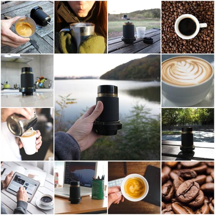 Prexo Manual Espresso Maker