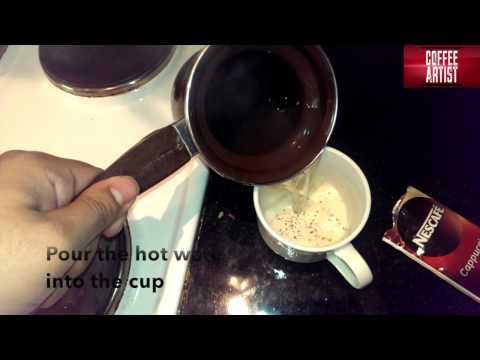 Nescafe Instant Cappuccino Taste Test
