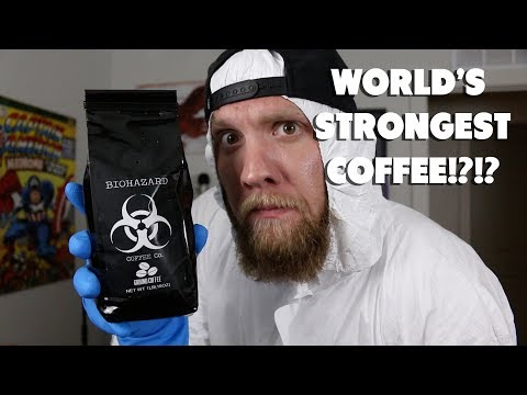World's Strongest Coffee?!? Biohazard Coffee Review