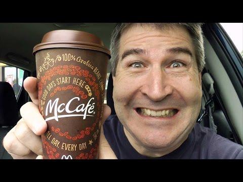 BEST COFFEE? McDonald's McCafe Coffee REVIEW (Java-Palooza, Ep 2)