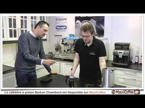 Bodum Chambord (french press)   Cafetière à piston   Le Test MaxiCoffee