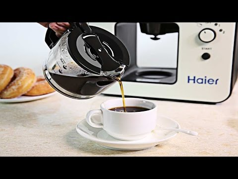Demo: Haier Brew Automatic Coffee Maker with Bean Grinder