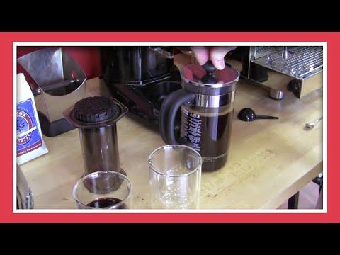 Taste Test: Aeropress vs. French Press