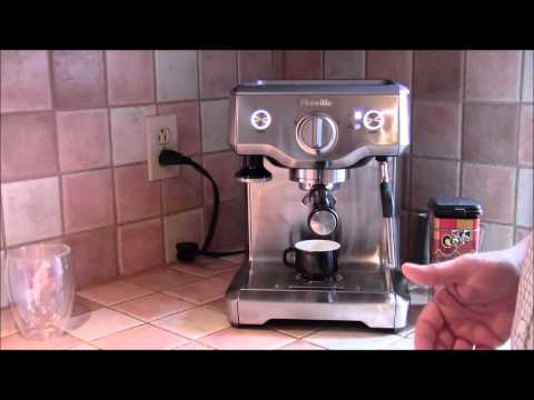 Demo of the Breville Duo-Temp Espresso Machine